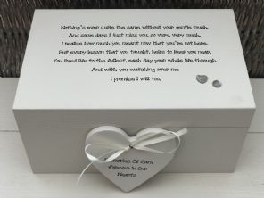 Personalised LARGE Box In Memory Of A Loved One ~ Loss Of Daughter Son Any Name - 253464784112